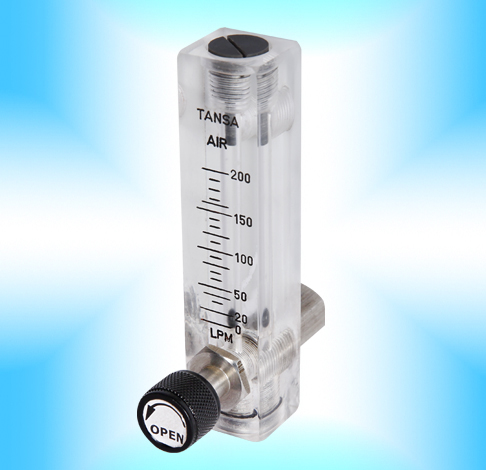 Glass Tube Rotameter with Transmitter