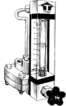 Purge Rotameter on flow meter connections